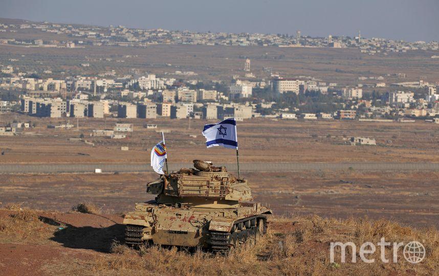 Голанские высоты – спорная территория на Ближнем Востоке. Фото AFP