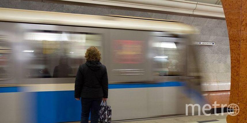 В Москве мужчина выжил после падения под прибывающий поезд