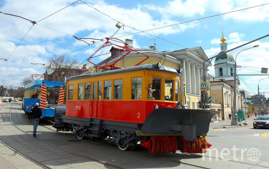 Московский парад трамваев пройдёт в этом году 20 апреля. Фото Василий Кузьмичёнок