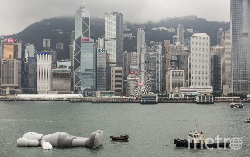 Длина скульптуры составляет 37 метров. Фото AFP