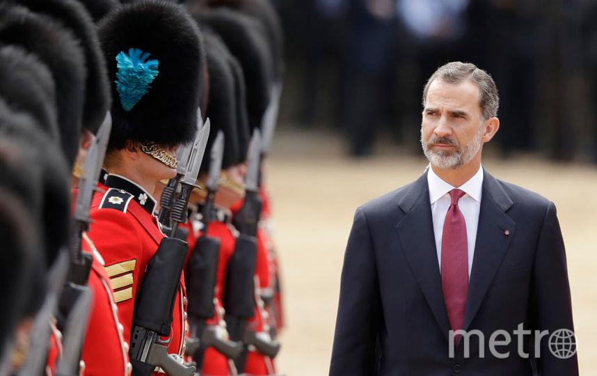 Испанский король Филипп VI. Фото Getty