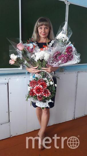 Татьяна в школе. Фото предоставила Татьяна Кувшинникова