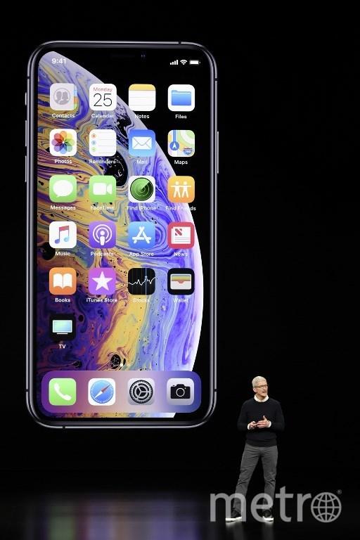Презентация новых сервисов Apple в Театре Стива Джобса. Фото AFP