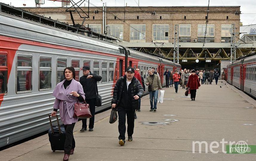 Электрички на Курском направлении МЖД следуют с задержками. Фото Василий Кузьмичёнок
