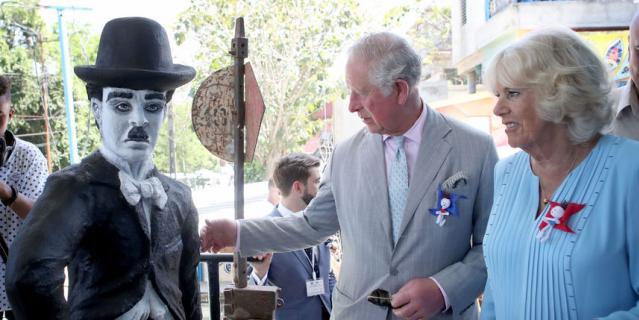 Принц Чарльз и Камилла на Кубе увидели даже Чарли Чаплина.