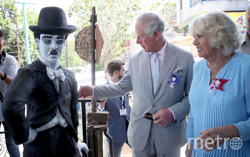Принц Чарльз и Камилла на Кубе увидели даже Чарли Чаплина. Фото Getty