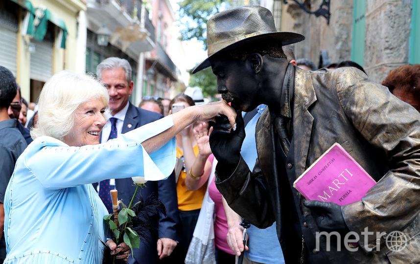 А герцогиня была приятно удивлена галантностью кубинцев. Фото Getty