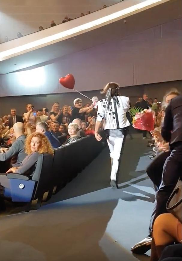 Концерт Валерия Леонтьева. Фото Скриншот/Первый Унечский Канал, Скриншот Youtube