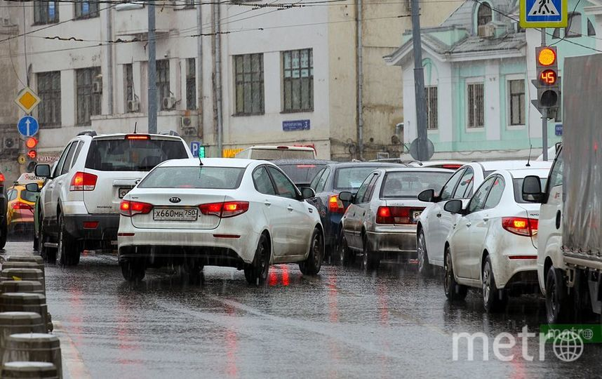В трёх районах Москвы ограничат движение транспорта из-за строительства БКЛ. Фото Василий Кузьмичёнок