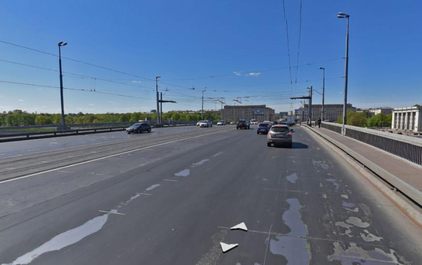 Володарский мост. Фото Яндекс.Панорамы
