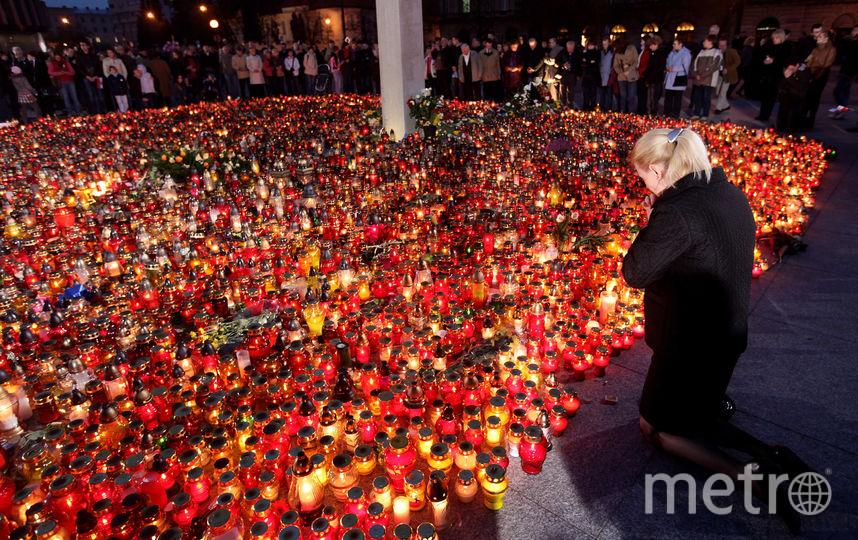 Великобритания обнаружила следы тротила на обломках самолёта Качиньского. Фото Getty