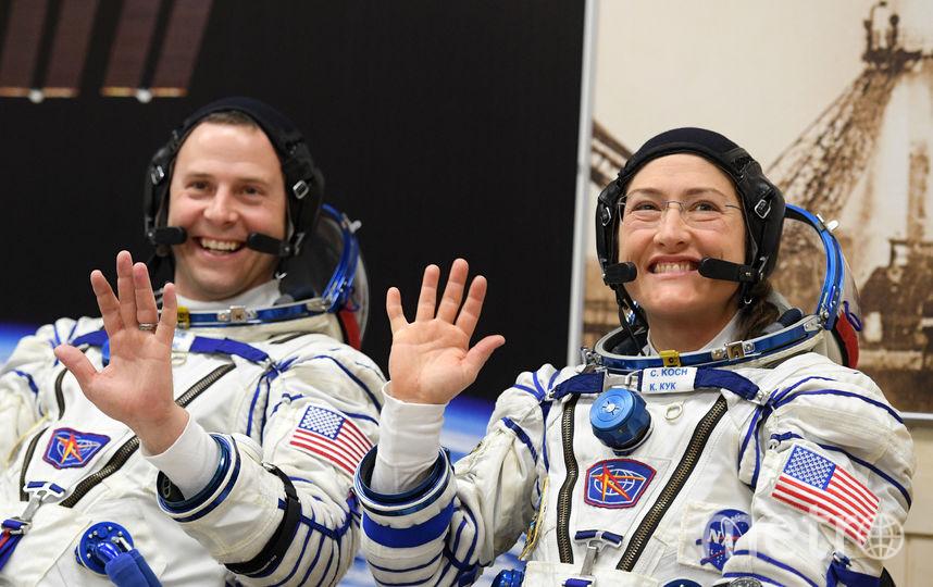 Ник Хейг и Кристина Кок. Фото AFP