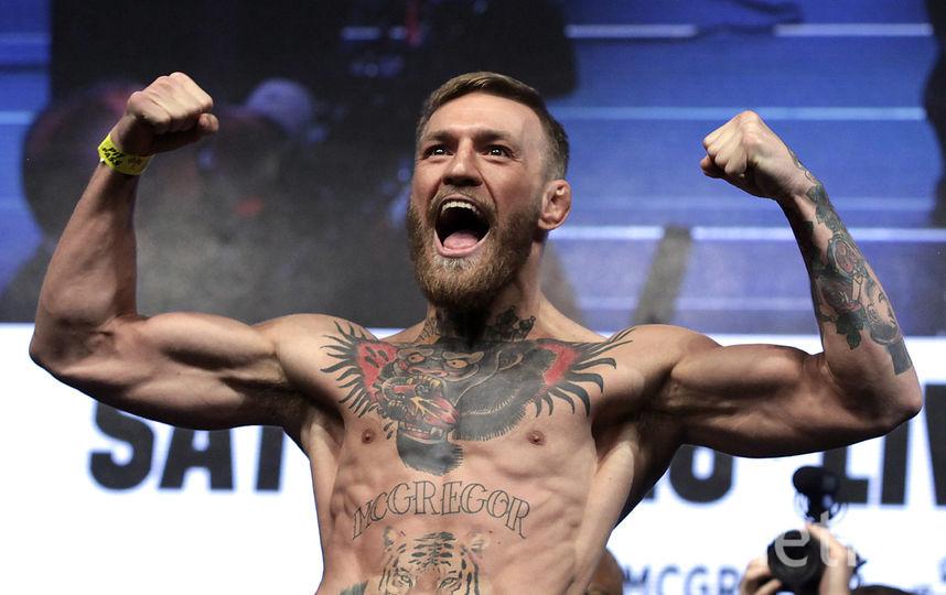 Конор Макгрегор был чемпионом UFC в лёгком и полулёгком весах. Фото AFP