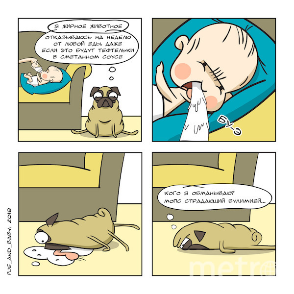 Комиксы Анны. Фото предоставила Анна Хмыз