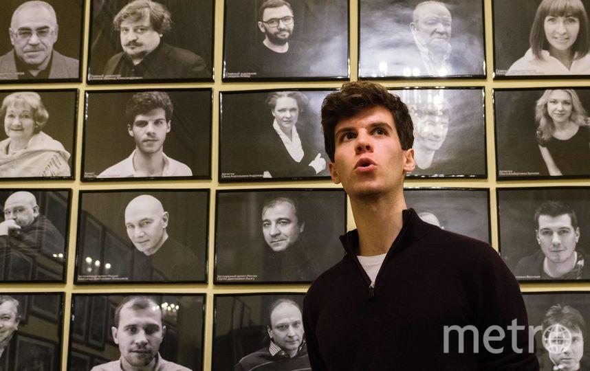 """Актёр Игорь Андреев. Фото Алена Бобрович, """"Metro"""""""