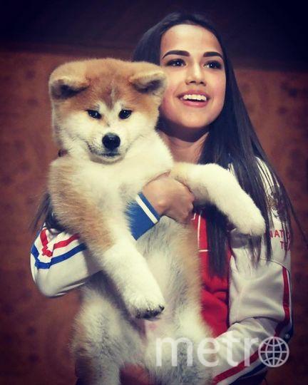Алина с Масару. Фото instagram.com/azagitova