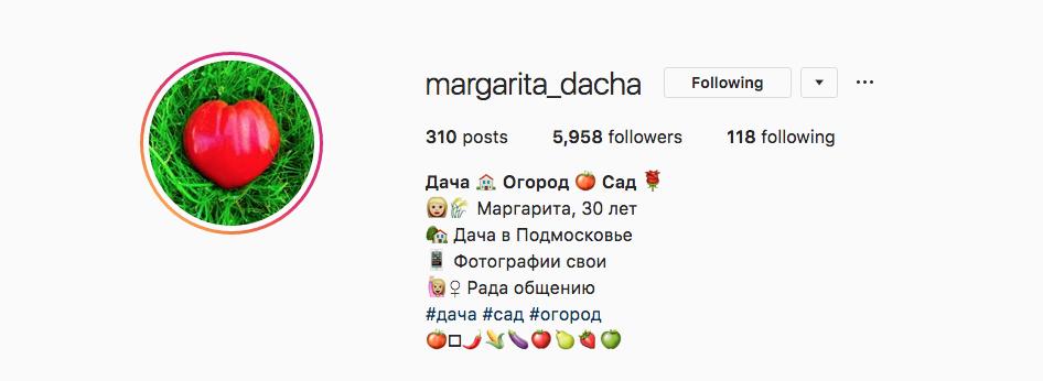 @margarita_dacha. Фото Instagram/margarita_dacha
