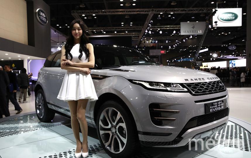 Range Rover EVOQUE. Фото Getty