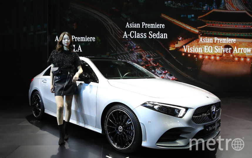 Mercedes-Benz New A Class. Фото Getty
