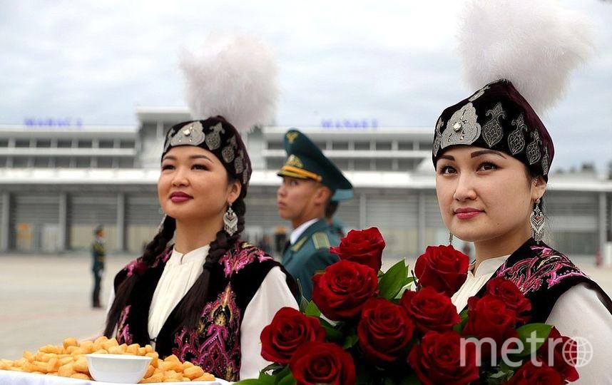 "Путин в Киргизии. Фото http://kremlin.ru/events/president/news/60157, ""Metro"""