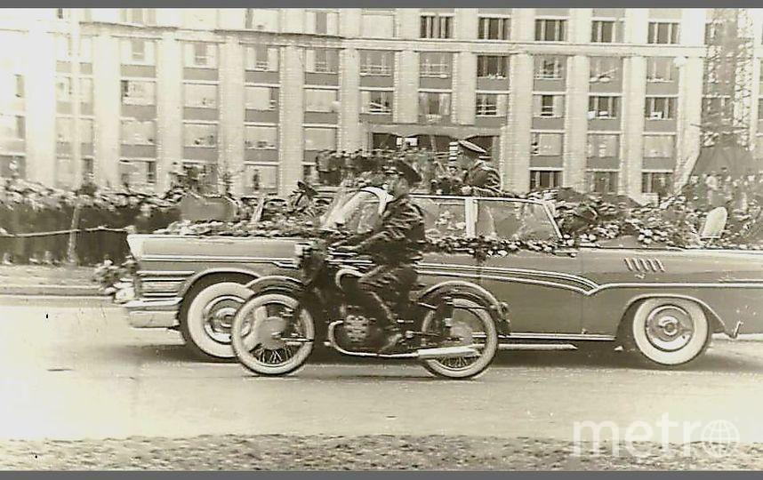 Юрий Гагарин вернулся в Москву после полёта. Фото Из личного архива Сергея Смирнова