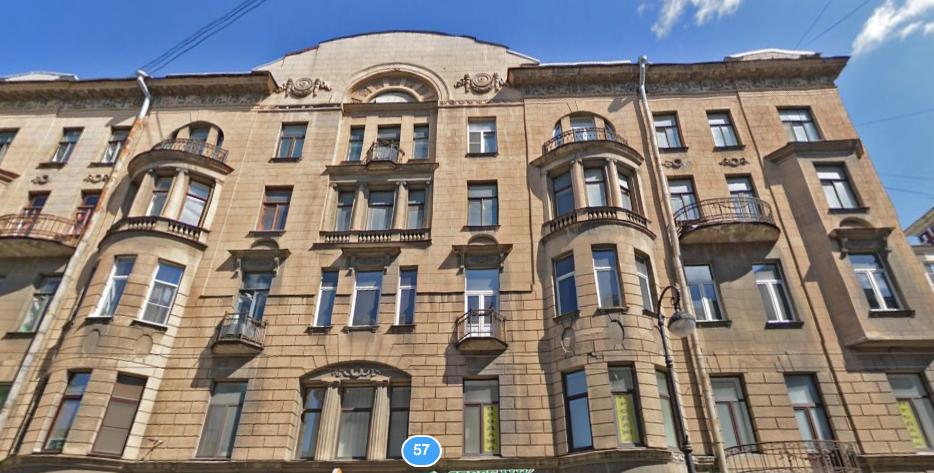 Здание, где проводилась перепланировка. Фото Яндекс.Панорамы