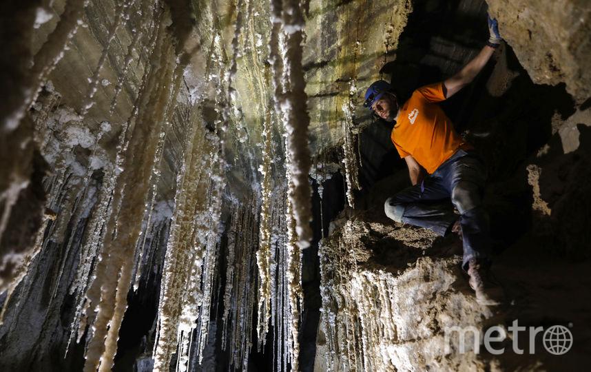 Длина пещеры составляет 10 километров. Фото AFP