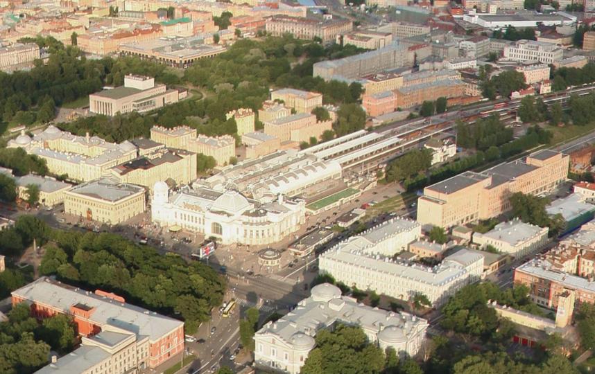 Панорама: вид на Витебский вокзал. Фото Яндекс.Панорамы
