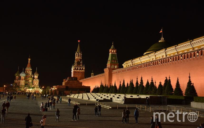 Завтра ровно на час Кремль останется без подсветки. Фото Василий Кузьмичёнок
