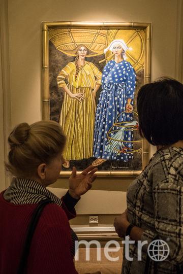 """Картина «Женщины с пеликаном» была написана в 2017 году. Фото Святослав Акимов, """"Metro"""""""