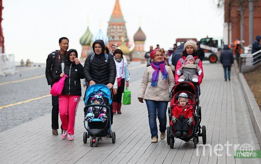 В ближайшие выходные в Москве потеплеет до +11 градусов. Фото Василий Кузьмичёнок