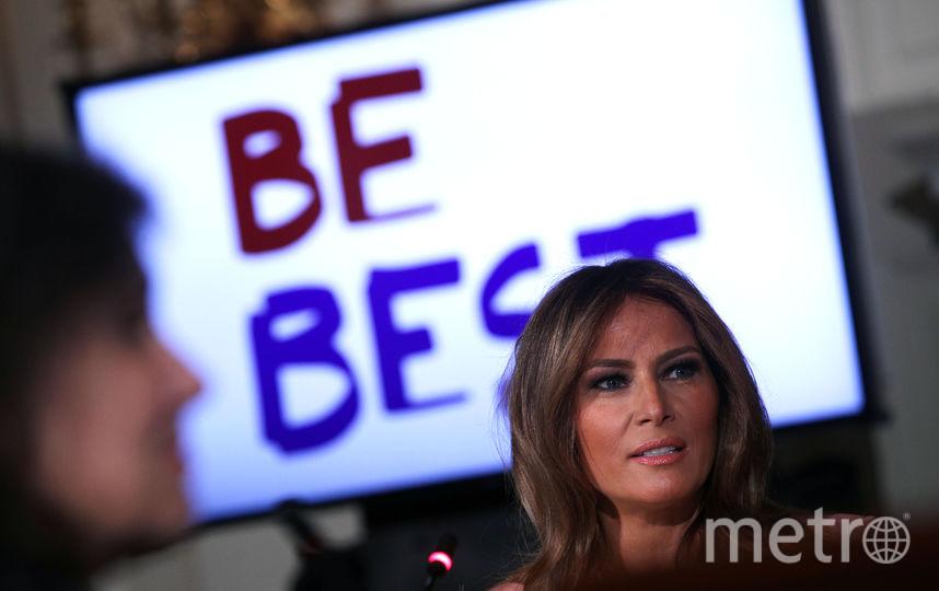 Мелания Трамп поддерживает политику мужа. Фото Getty