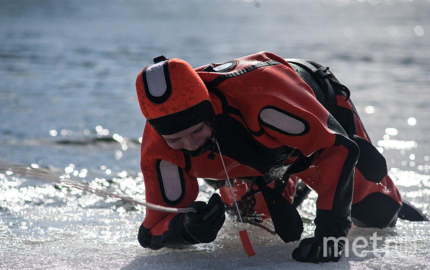 """Репортёр Metro провалилась под лёд и попробовала сама себя спасти. Фото  Игорь Генералов, """"Metro"""""""