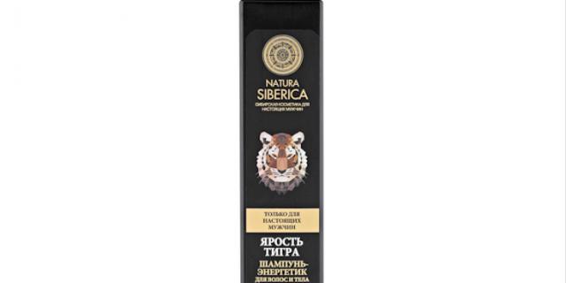 "Natura Siberica ""Ярость тигра""."
