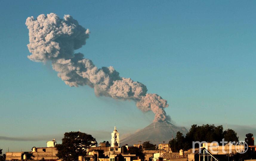 Вулкан Попокатепетля. Фото AFP