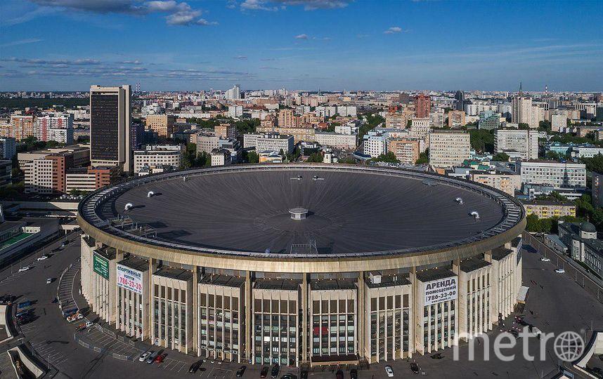 "СК ""Олимпийский"" до реконструкции. Фото mos.ru"