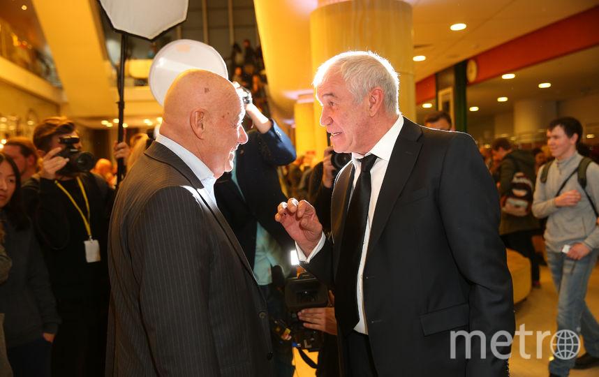 Владимир Познер и Сергей Гармаш. Фото Василий Кузьмичёнок