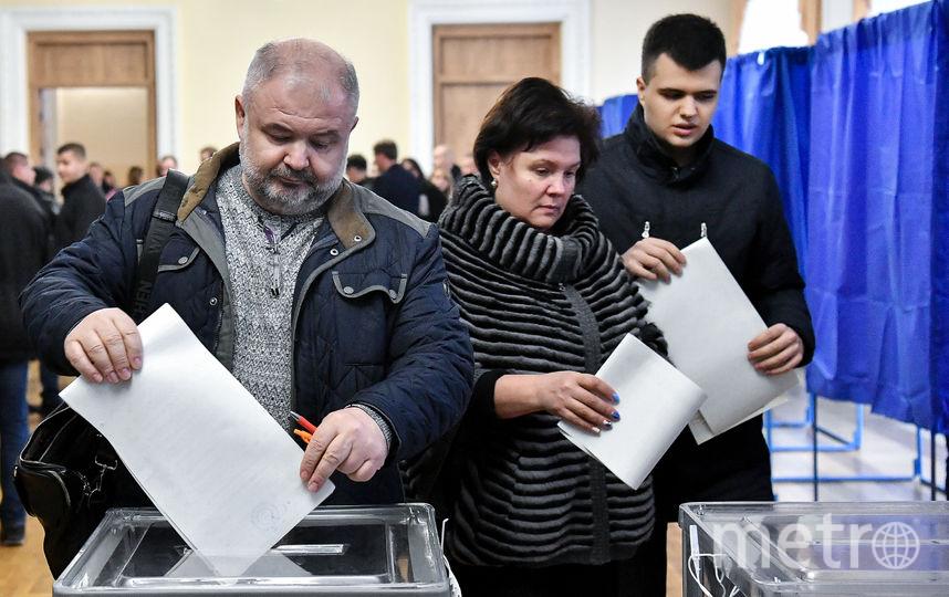 Явка на президентские выборы на Украине к 15:00 превысила 45%. Фото AFP