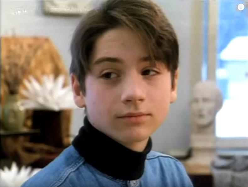 Сергей Лазарев в детстве и юности. Фото Скриншот Instagram: @lazarevsergey
