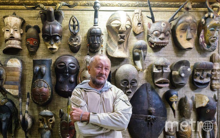 """Терем Сундакова похож на музей: здесь хранятся все подарки и экспонаты, привезённые из экспедиций. Фото Алёна Бобрович, """"Metro"""""""