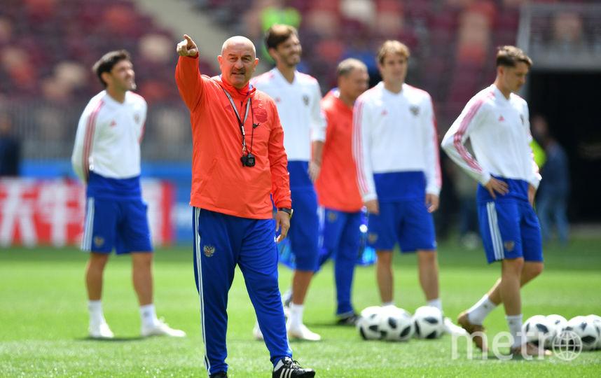 10  августа 2016 года Станислав Черчесов возглавил сборную России. Фото Getty