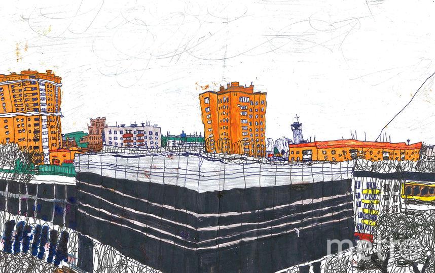 Рисунки художника с аутизмом Давида Читая. Фото предоставлено пресс-службой Музея русского импрессионизма, Предоставлено организаторами