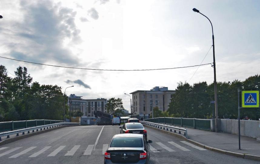 "Мост ""Красного Курсанта"". Фото Яндекс.Панорамы"