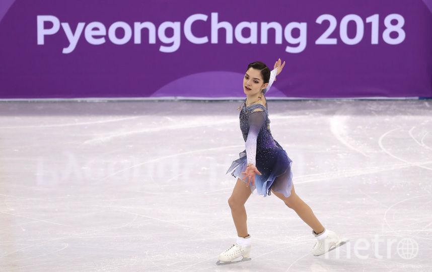Евгения Медведева на Олимпиаде-2018. Фото Getty