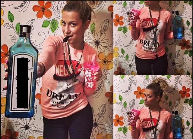 Эта фотография решила судьбу Юлии Рывкиной в школе. Фото предоставила Юлия Рывкина