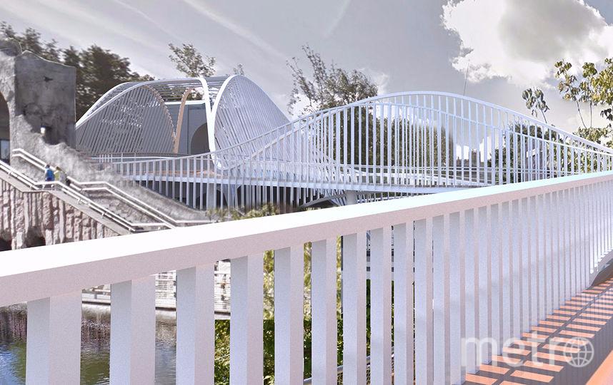 Новый мост будет не только удобным, но и красивым. Фото mos.ru