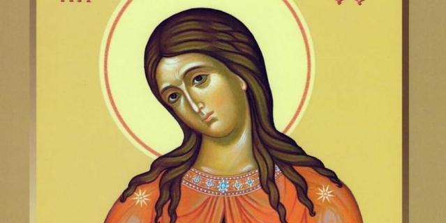 """Икона Божьей Матери """"Помощница в родах""""."""