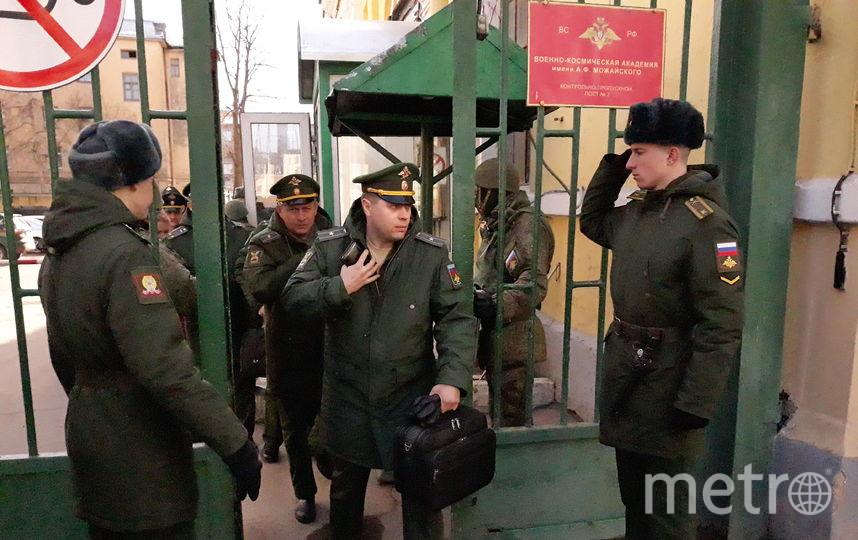 На месте ЧП работают военные следователи. Фото Интерпресс