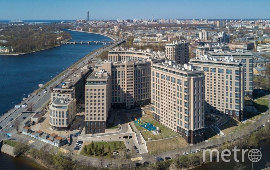 """Студия ценой в одну пятую миллиарда расположена на 15-м этаже этого ЖК. Фото realty.yandex.ru, """"Metro"""""""
