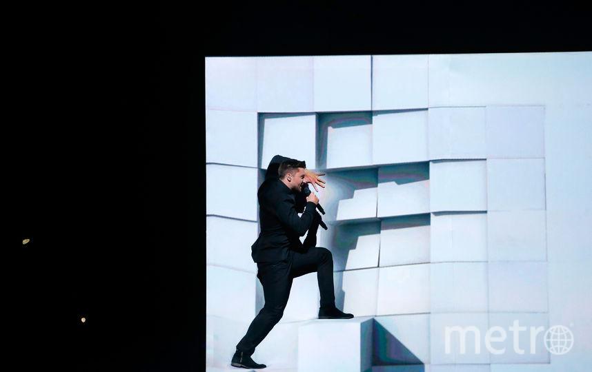 """Выступление Сергея Лазарева на """"Евровидении-2016"""". Фото Getty"""